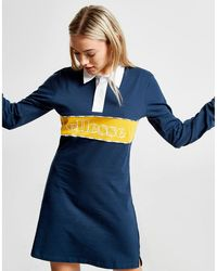 4a45c27a31e59 Ellesse - Rugby Long Sleeve Dress - Lyst