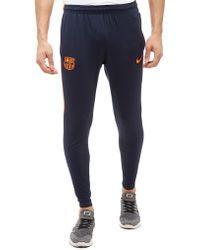 Nike - Fc Barcelona Squad Pants - Lyst