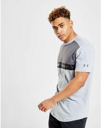 Under Armour - Woven Panel T-shirt - Lyst