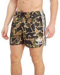 adidas Originals - Woven Swim Shorts - Lyst