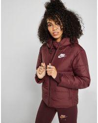 Nike - Reversible Padded Jacket - Lyst