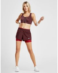 Nike - Running 10k 2 In 1 Shorts - Lyst