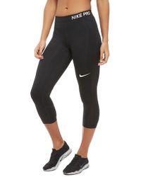 Nike - Pro Capri - Lyst