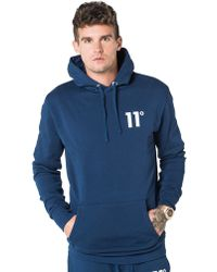 11 Degrees | Core Fleece Overhead Hoody | Lyst