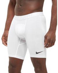"Nike - Pro Compression 6"" Shorts - Lyst"