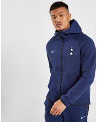 Nike - Sportswear Tottenham Hotspur Fc Tech Fleece Hoodie - Lyst