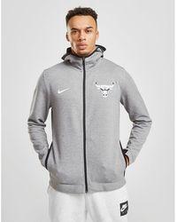 Cheap Nike Men's Chicago Bears Gridiron Full zip Hoodie in Gray for Men Lyst