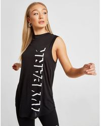 f0fcd565385db3 Lyst - Ivy Park Logo Jersey Tank Top in White