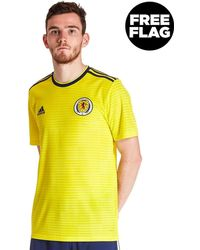 c8a439c5 Lyst - adidas Scotland 2018/19 Home Kit Infant in Blue for Men