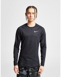 Nike - Pro Therma Long Sleeve T-shirt - Lyst