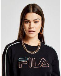 Fila - Stripe Crew Sweatshirt - Lyst