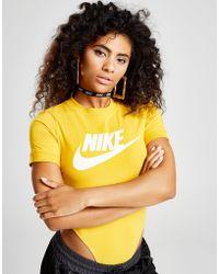 Nike - T-shirt Bodysuit - Lyst