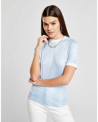 SIKSILK - Shadow Stripe T-shirt - Lyst