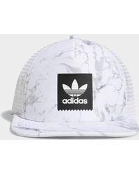 adidas - Marble Trucker Hat - Lyst