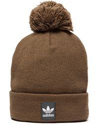 adidas Originals - Logo Bobble Hat - Lyst