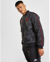 f44fa85a9 adidas Manchester United Z.n.e. Jacket in Red for Men - Lyst