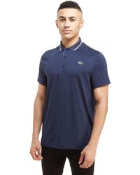Lacoste - Side Logo Poly Polo Shirt - Lyst