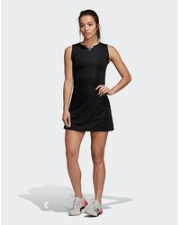 95cd2117a10 adidas Originals Helsinki Skater Dress With Neoprene Skirt in Blue - Lyst