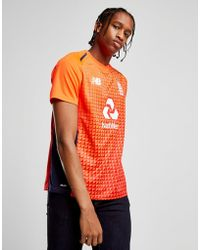 New Balance - Ecb T20 Shirt - Lyst