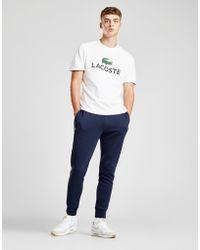 Lacoste - Slim Cuffed Fleece Track Trousers - Lyst