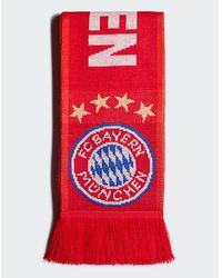 adidas Originals Fc Bayern Scarf - Red