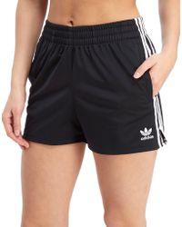 adidas Originals - 3-stripes Poly Shorts - Lyst