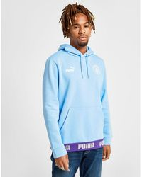 782b2c1f Nike Manchester City Fc Men's Long-sleeve Crew in Blue for Men - Lyst