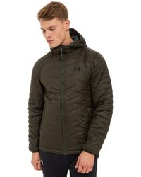 Under Armour - Coldgear Reactor Hooded Jacket - Lyst