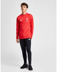 New Balance - Liverpool Fc 1/4 Zip Top - Lyst