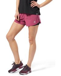 Reebok - 2-in-1 Perforated Shorts - Lyst