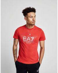 EA7 - Eagle Logo T-shirt - Lyst