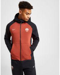 Nike - A.s Roma Fc Tech Hoodie - Lyst