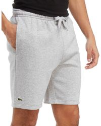 Lacoste - Fleece Core Shorts - Lyst