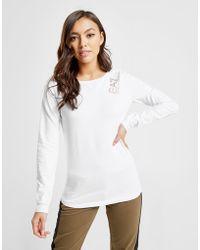 EA7 - Crew Long Sleeve T-shirt - Lyst