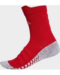 adidas - Alphaskin Traxion Lightweight Cushioning Crew Socks - Lyst