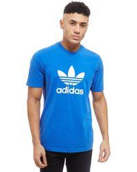 adidas Originals - Trefoil State T-shirt - Lyst