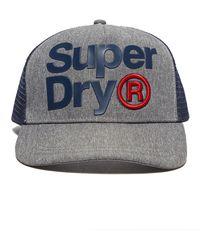 Superdry - Trucker Cap - Lyst