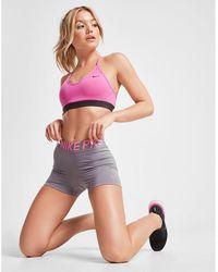 """Nike - Pro Training 3"""" Shorts - Lyst"""