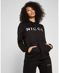 Nicce London - Oversized Boyfriend Hoody - Lyst