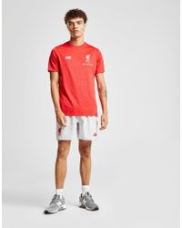 New Balance - Liverpool Fc Leisure T-shirt - Lyst