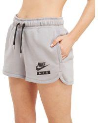 Nike - Air Fleece Shorts - Lyst