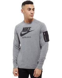 Nike - Air Max Ft Crew Sweatshirt - Lyst