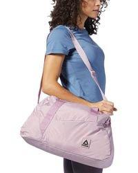 Reebok Grip Duffle Bag - Blue