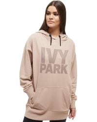 Ivy Park - Dotted Logo Overhead Hoodie - Lyst