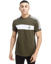 57631cde0fc Lyst - Adidas Originals California Short Sleeve T-shirt in Green for Men