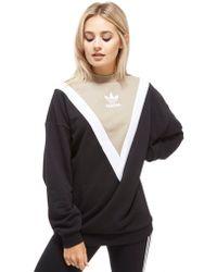 Adidas Originals | Chevron Sweatshirt | Lyst