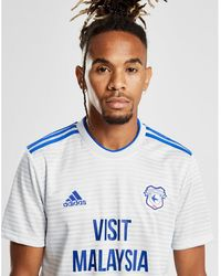 adidas Cardiff City Fc 2018 19 Home Shirt in Blue for Men - Lyst 8af470591