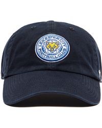 47 Brand - Leicester City Fc Clean Up Cap - Lyst