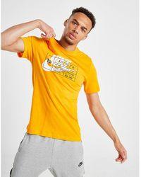 fbe130a4 Nike Futura Box Logo Tee in White for Men - Lyst
