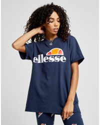 Ellesse - Core Logo Boyfriend T-shirt - Lyst